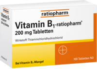 VITAMIN B1-ratiopharm 200 mg Tabletten
