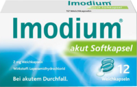 IMODIUM akut Softkapseln